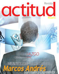 Revista actitud 2 Miami cover