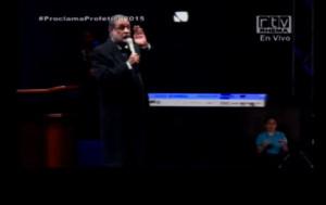 El evento se transmitio por RTV.