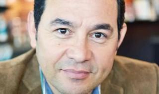 Jimmy Morales candidato FCN-Nacion. / Fotografía: Revista actitud